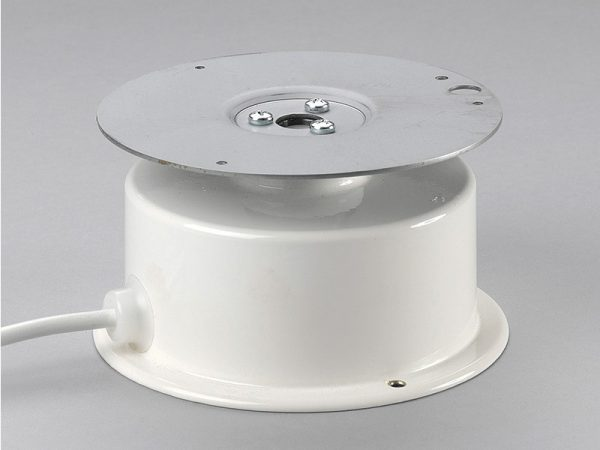 Drehbühne weiß bis 10kg zentrische belastung